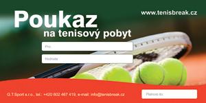 Dárkový poukaz na tenisový pobyt od TenisBreak.cz